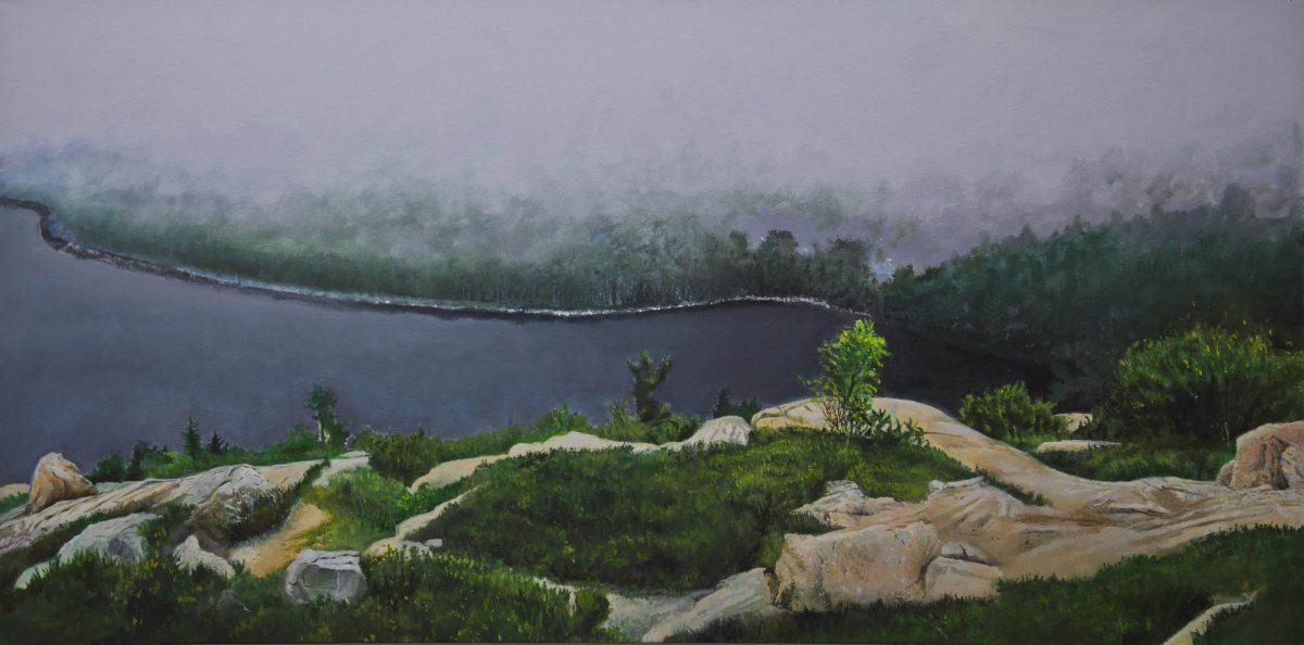 """Jordan Pond"" by Howard Nathenson"